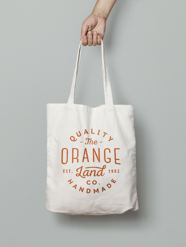Макет на сумке