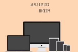 Мокап устройств от Apple
