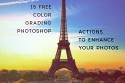 15 Actions для цветокоррекции фотографий