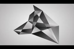 """Видео """"Полигональный логотип в AI"""""""